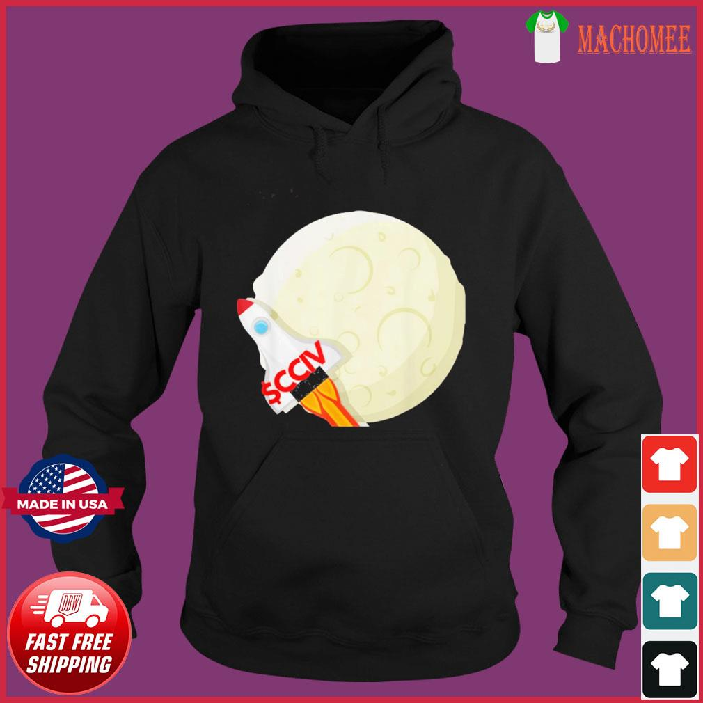 CCIV To The Moon Lucid T-Shirt Hoodie