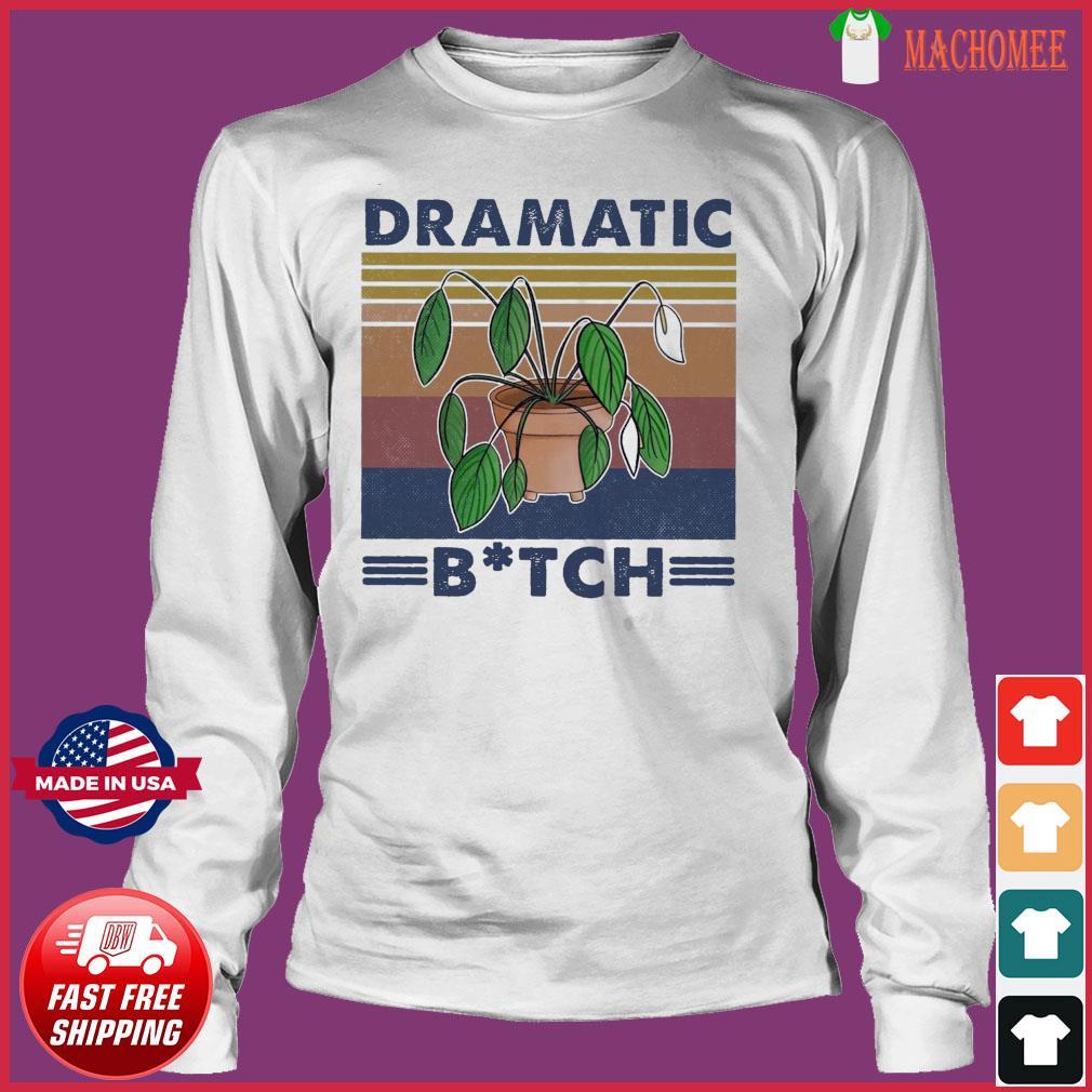 Houseplant Dramatic Bitch Vintage Shirt Long Sleeve