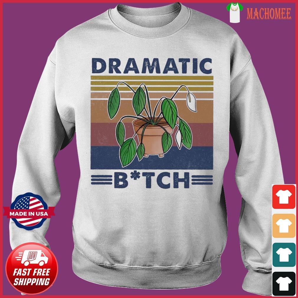 Houseplant Dramatic Bitch Vintage Shirt Sweater