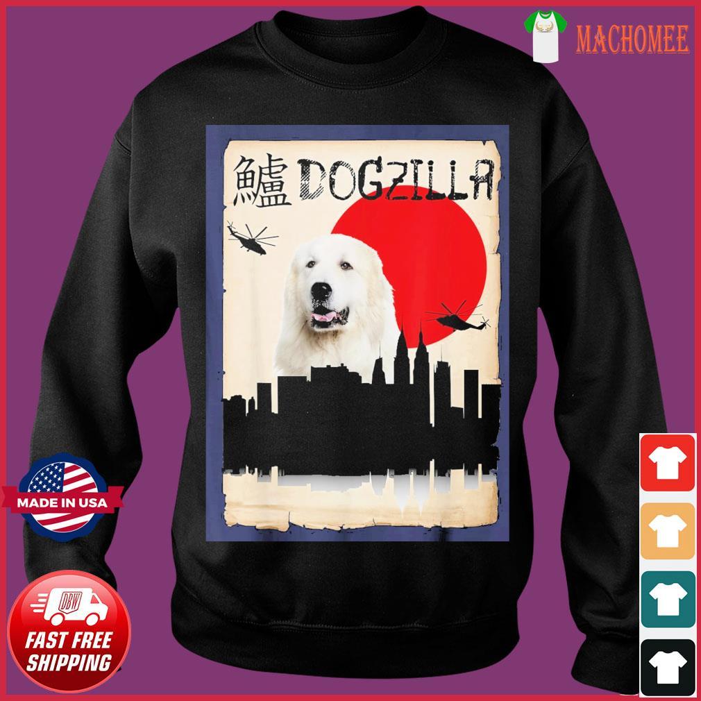 Pyrenees Dog Dogzilla Shirt Sweater