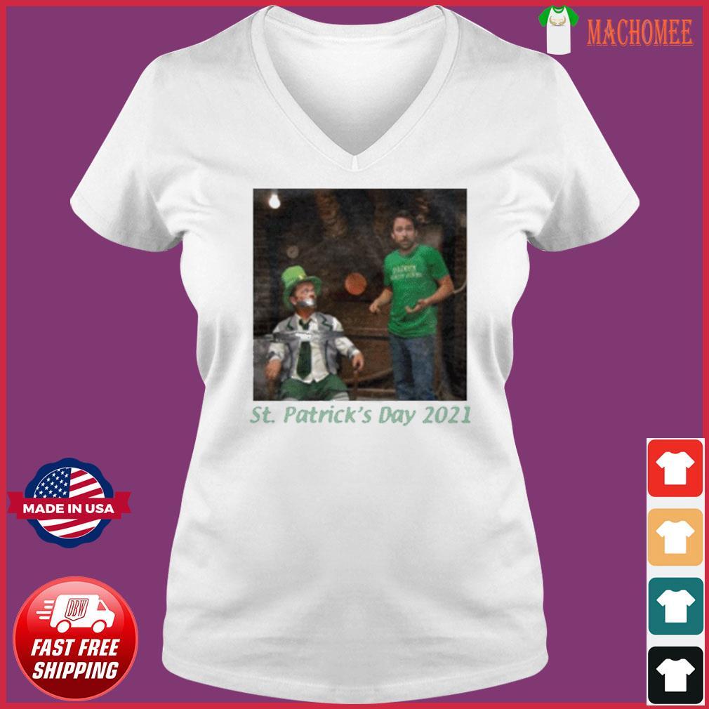 St. Patrick's Day 2021 Tee Shirt Ladies V-neck Tee