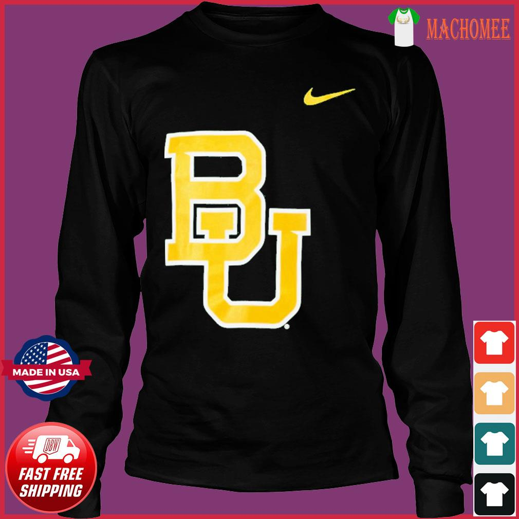 Nike Baylor Bears Logo Legend Performance T-Shirt Long Sleeve