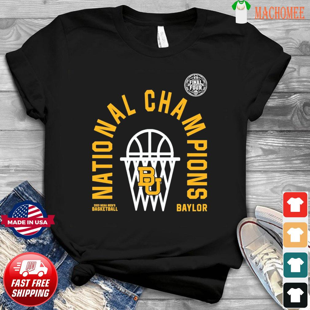 Official BU Baylor Bears 2021 NCAA Men's Basketball National Champions Arc Velocity Shirt