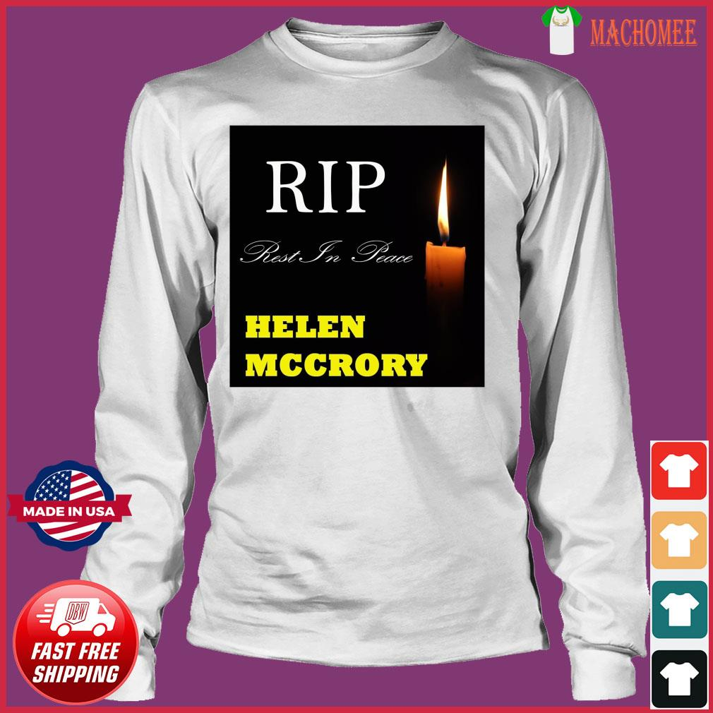 Official RIP Helen McCrory Rest In Peace Shirt Long Sleeve