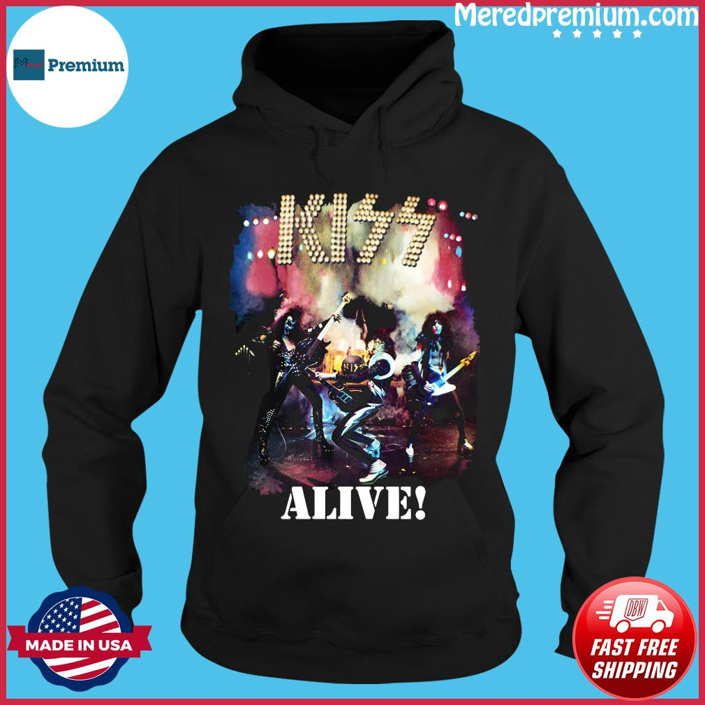 Kiss Alive Shirt Hoodie