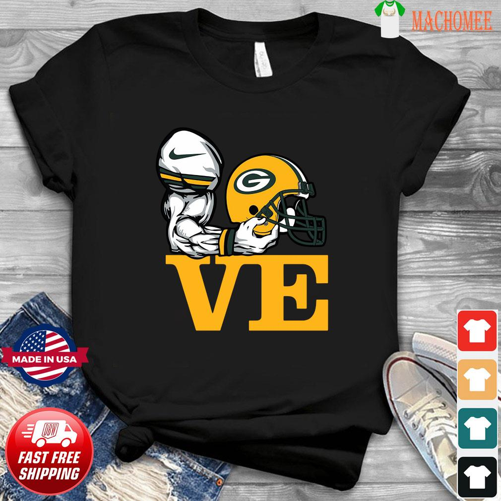 Aaron Rodgers Love Green Bay Packer Shirt