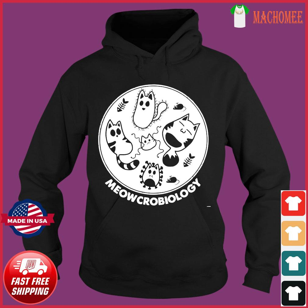Cat Meowcrobiology Microbiology mouse fishbone s Hoodie