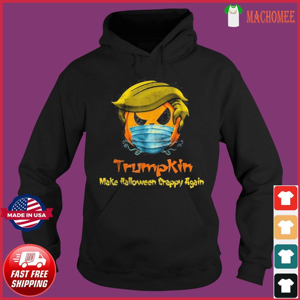 Halloween Trumpkin Covid Funny T-Shirt Hoodie