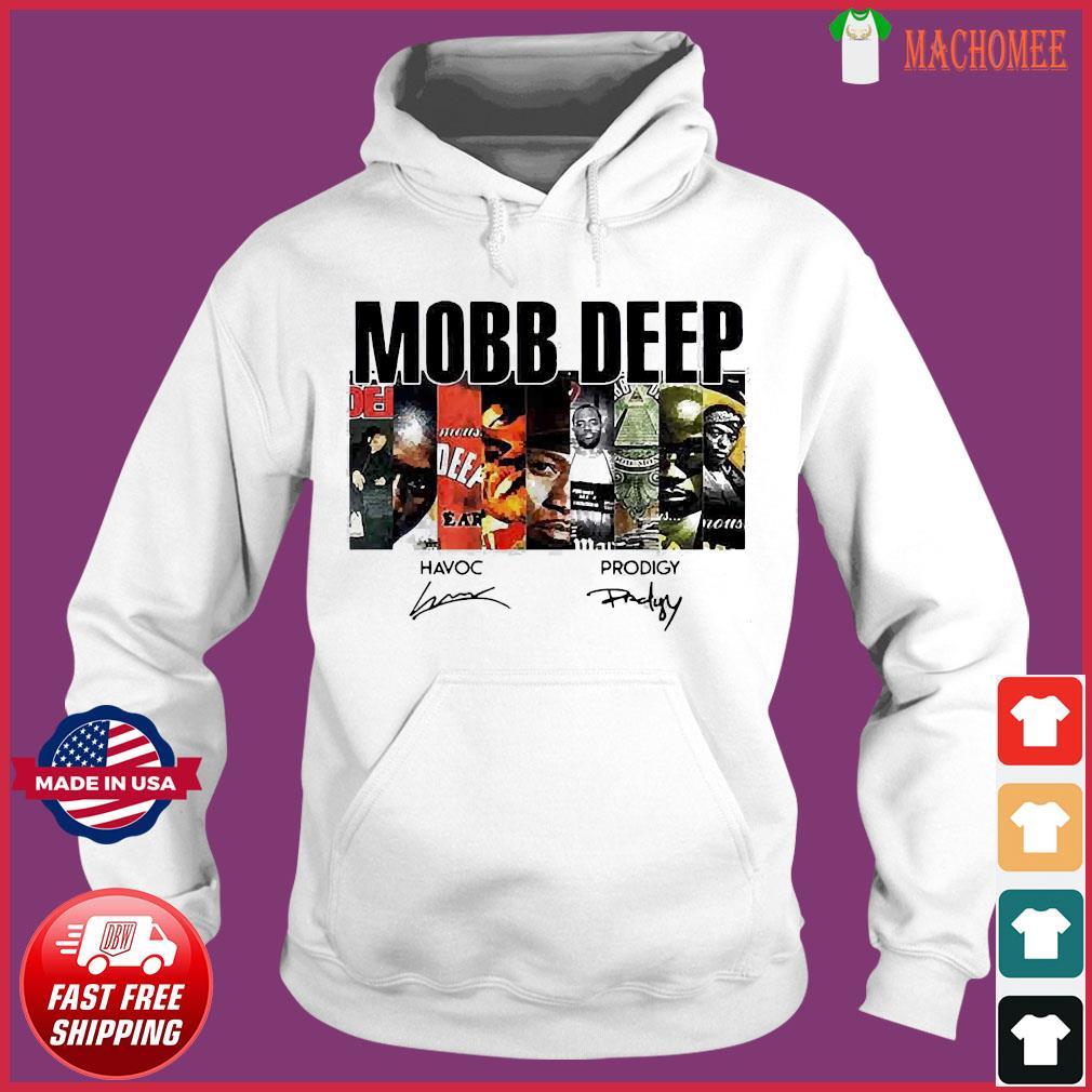 Mobb Deep Signature Shirt Hoodie