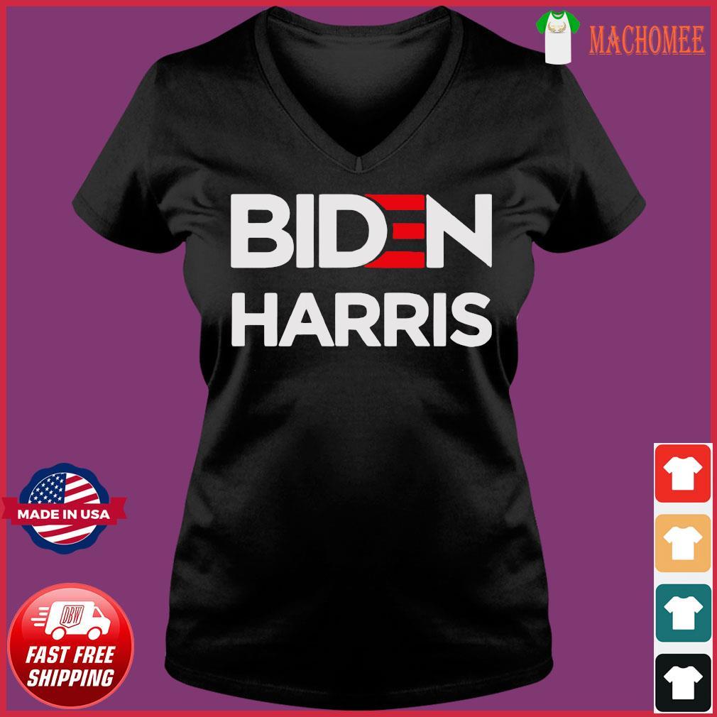 Official Joe Biden Kamala Harris Shirt Ladies V-neck Tee