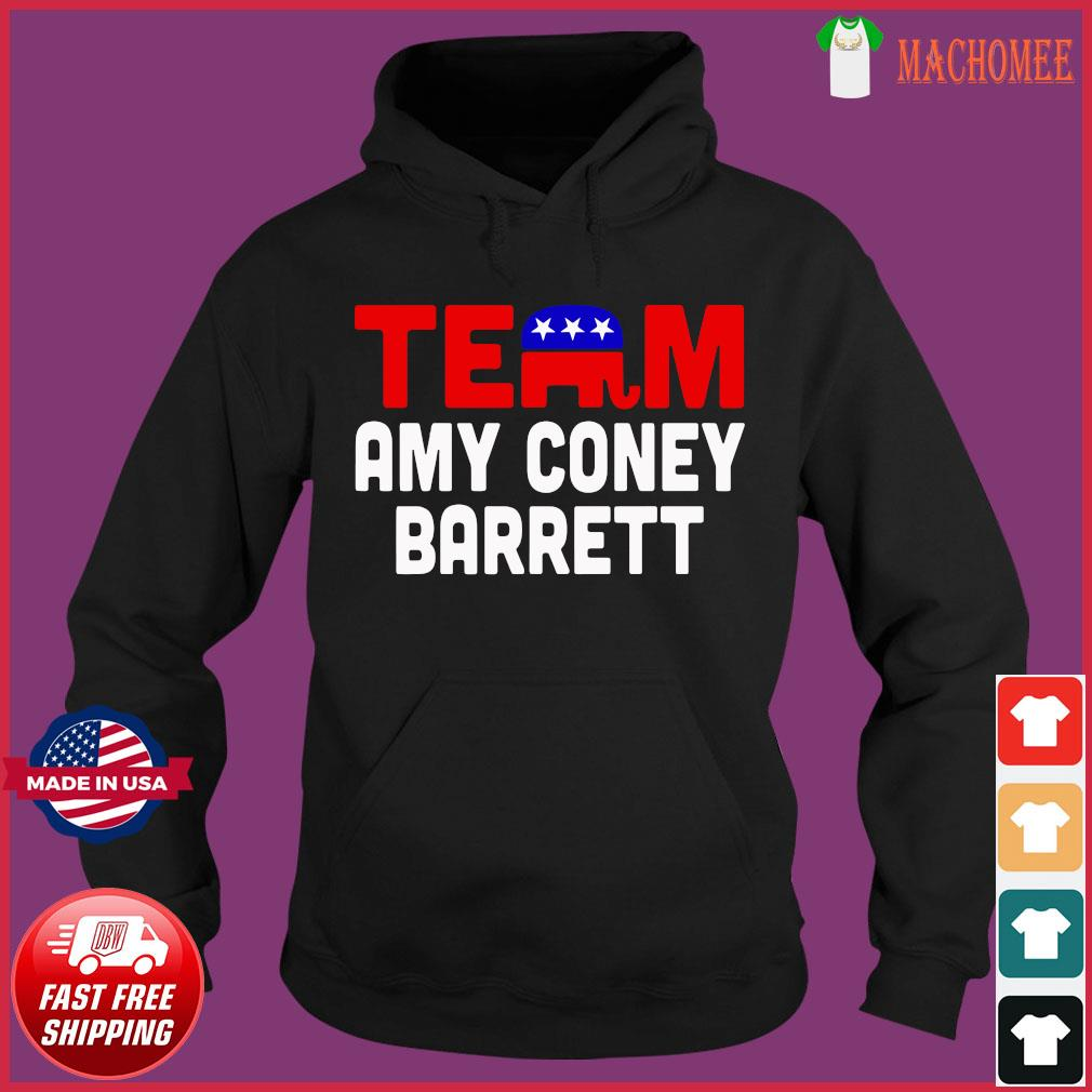 Team Amy Coney For SCOTUS 2020 Amy Barrett Fill That Seat T-Shirt Hoodie