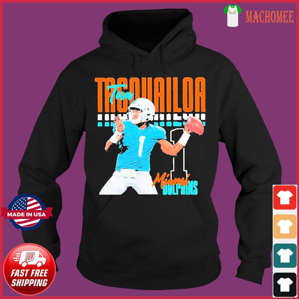 Tua tagovailoa 1 miami dolphins football player Shirt Hoodie