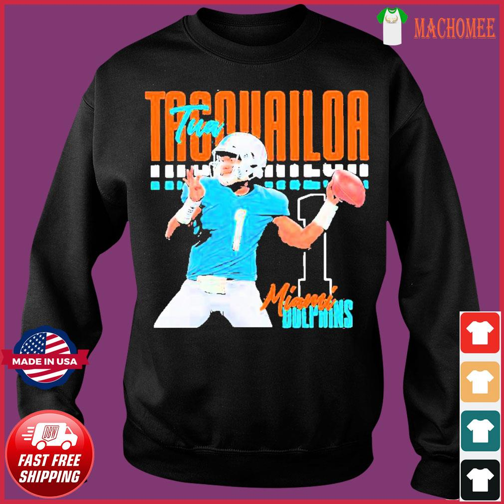 Tua tagovailoa 1 miami dolphins football player Shirt Sweater