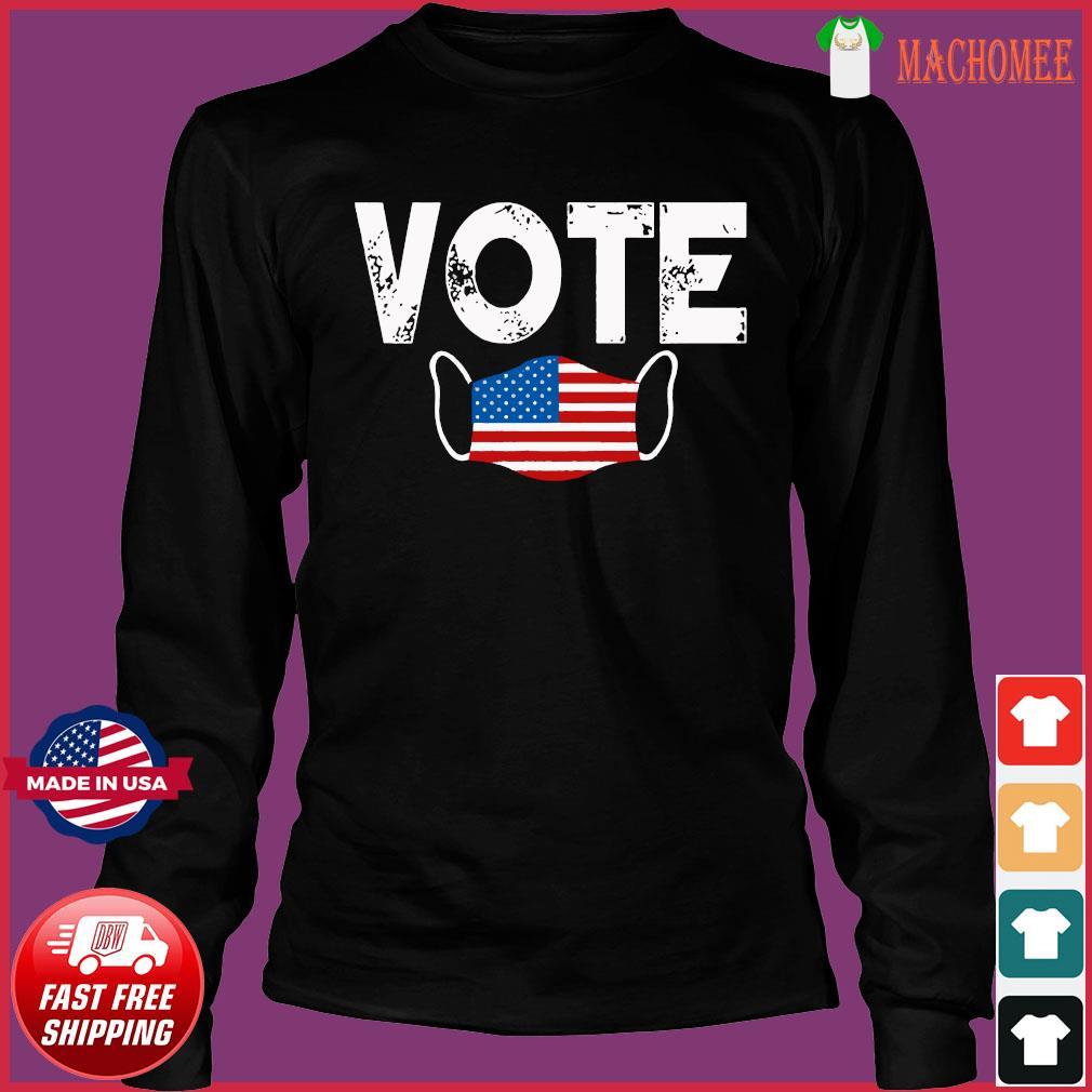 Vote Election Retro Vintage Anti Trump 2020 Election Shirt Long Sleeve