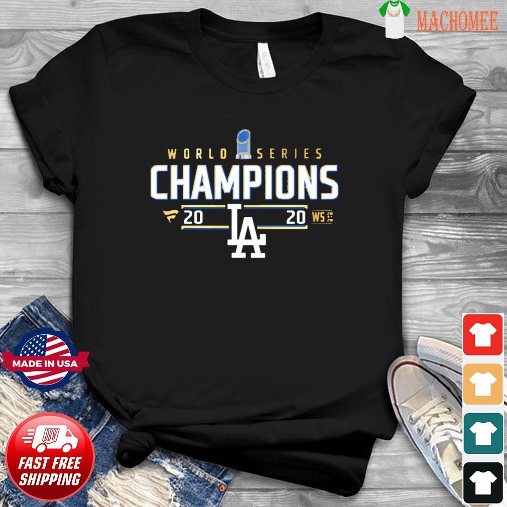 2020 Dodger World Series Champions Shirt