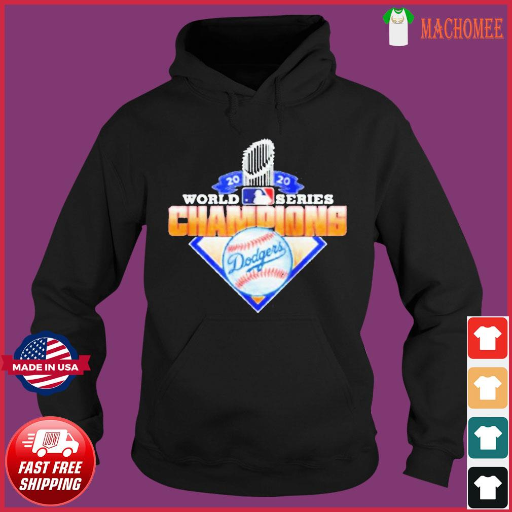 2020 World Series Champions League MLB dodgers T-Shirt Hoodie