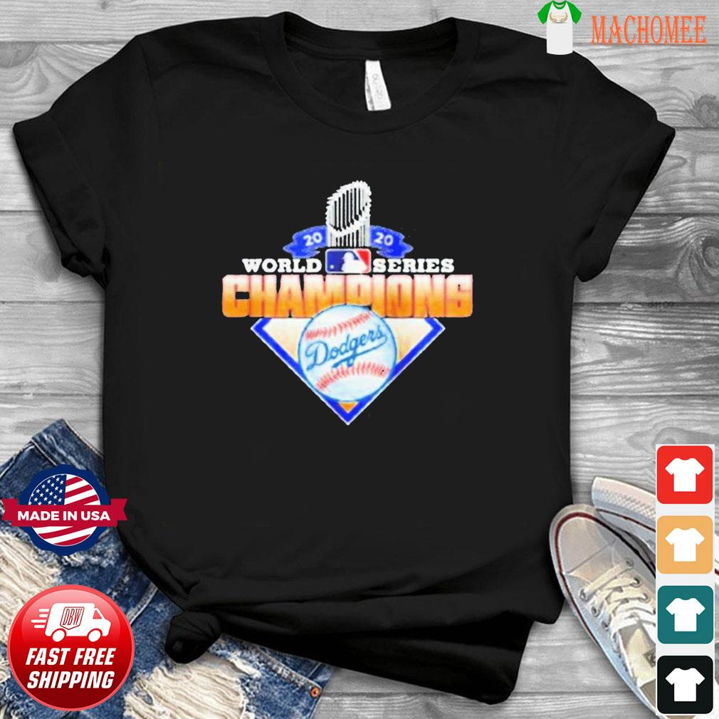 2020 World Series Champions League MLB dodgers T-Shirt