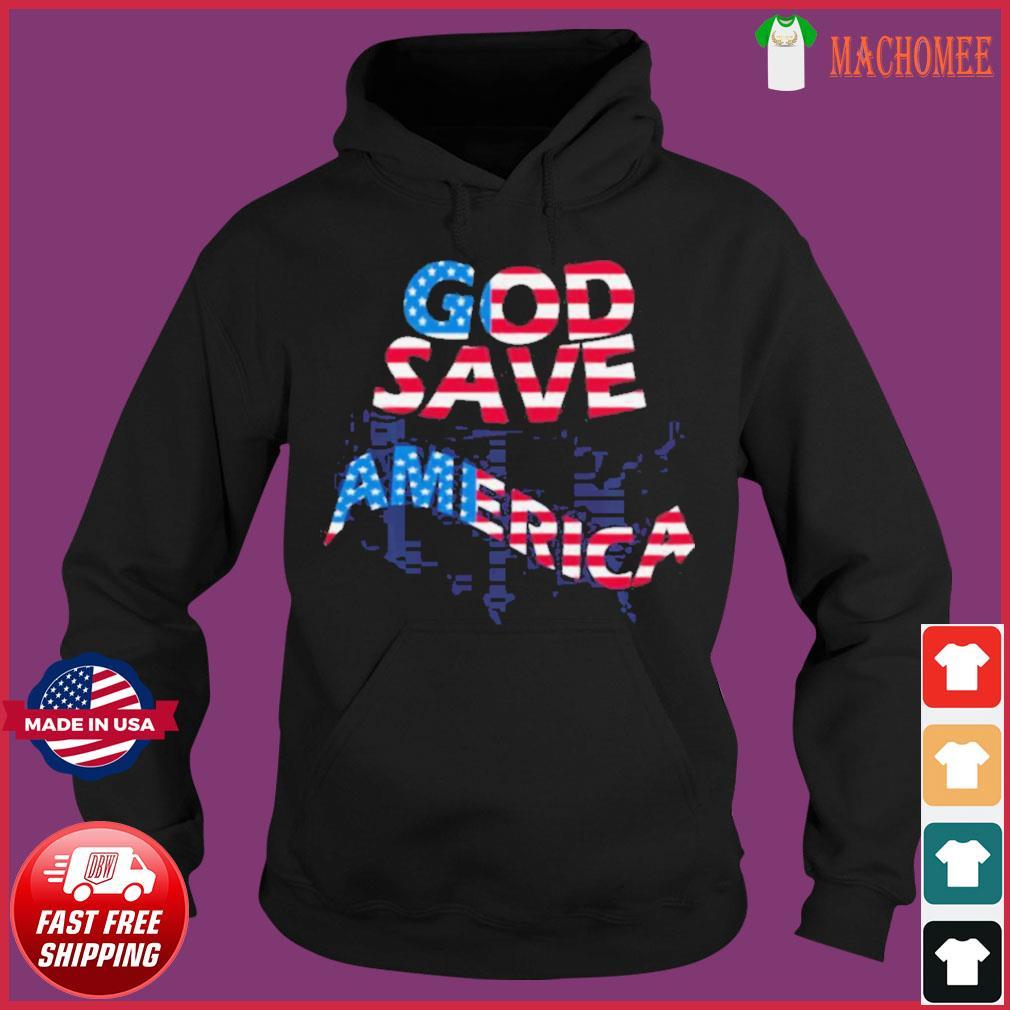 God save america patriotic american flag s Hoodie