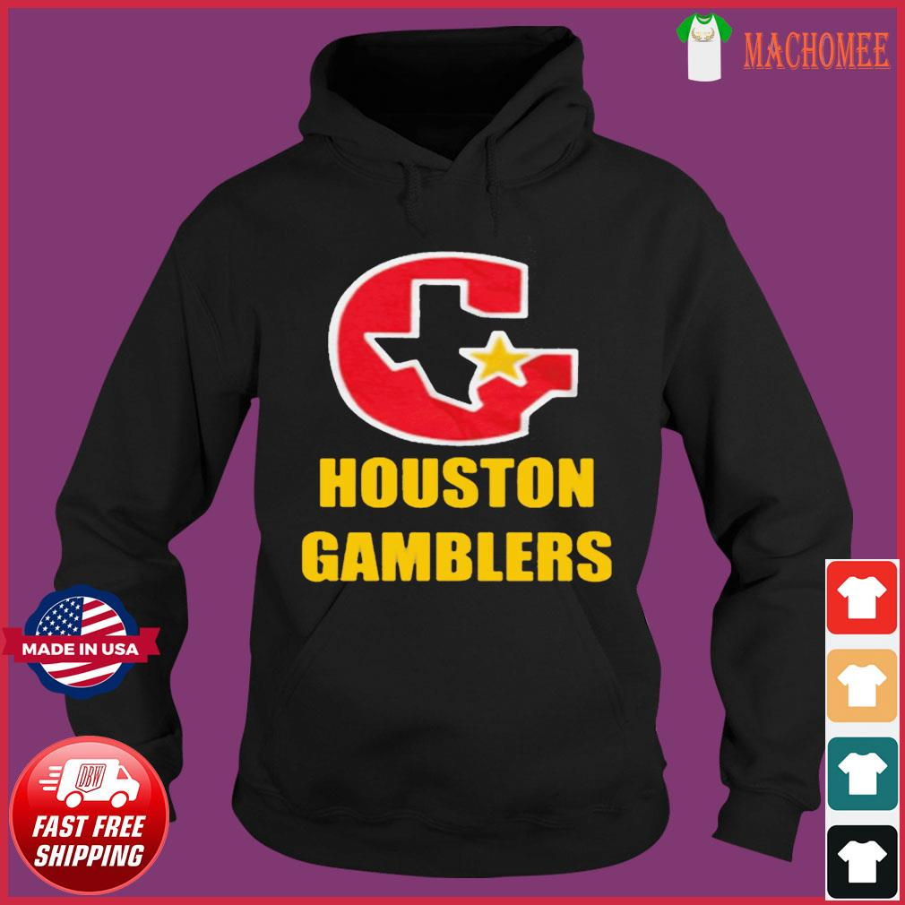 HOUSTON GAMBLERS T-SHIRT Hoodie