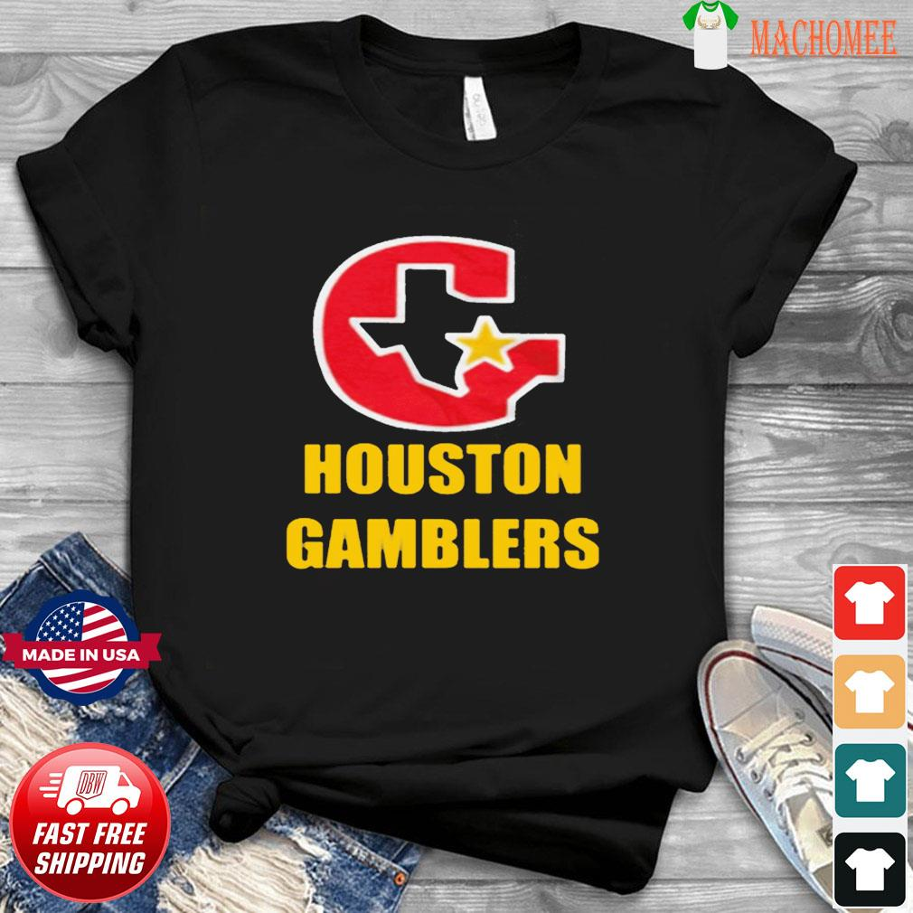 HOUSTON GAMBLERS T-SHIRT