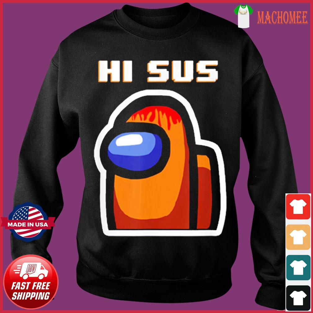 Impostor Among Us Funny Vintage Game Sus T-Shirt Sweater