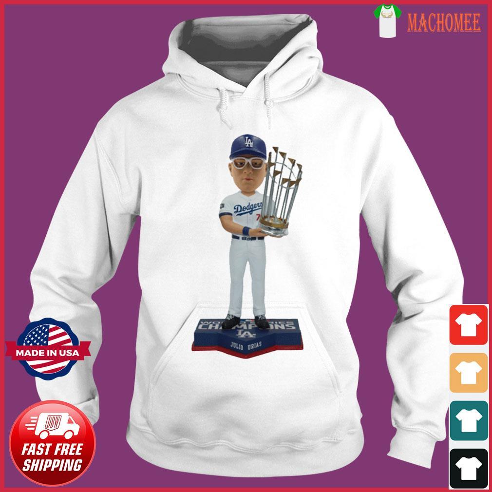 Juilo Urias Los Angeles Dodgers 2020 World Series Champions Shirt Hoodie