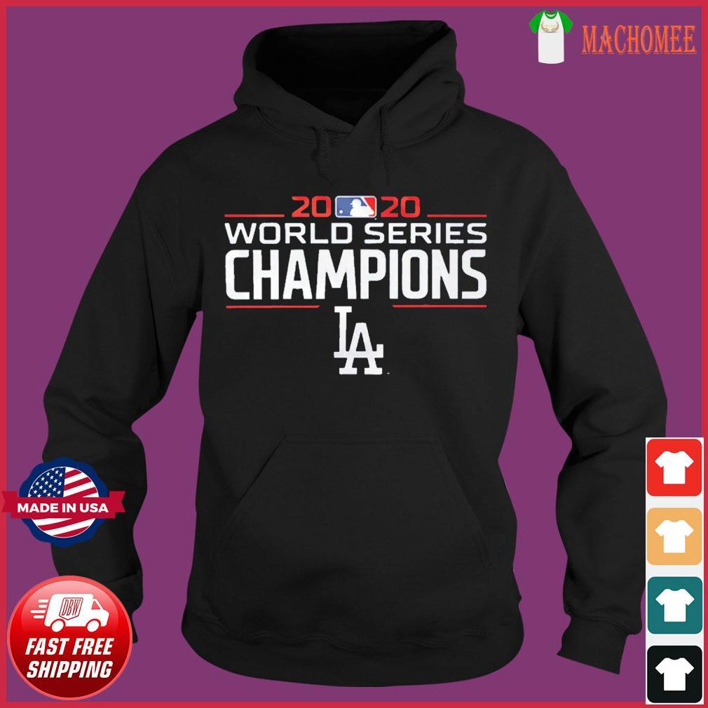 LA2020 – Los Angeles Dodgers Baseball Champions T-Shirt Hoodie