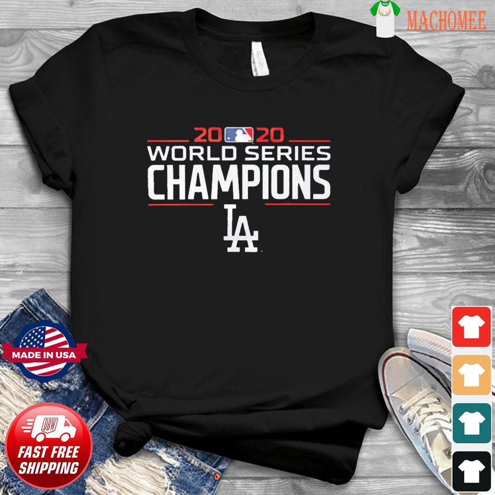 LA2020 – Los Angeles Dodgers Baseball Champions T-Shirt