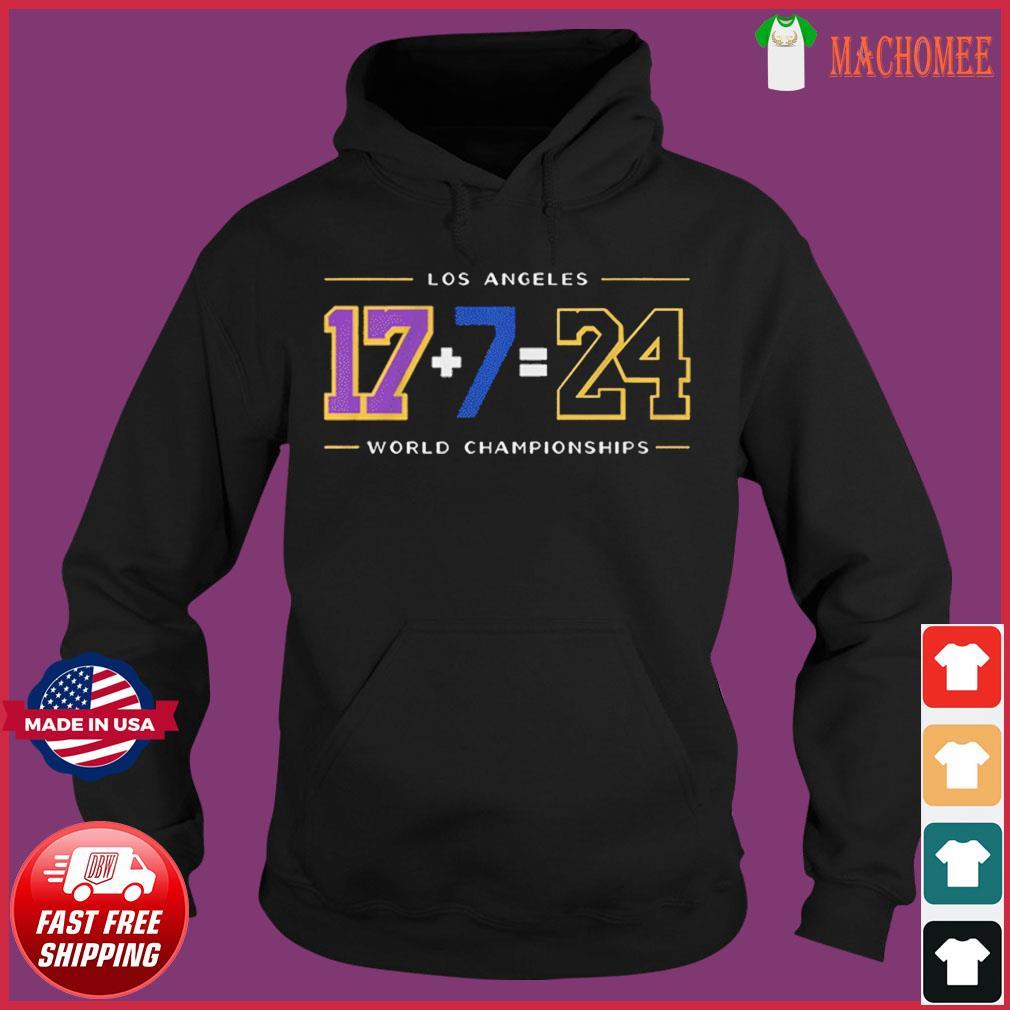 LA24 Shirt – Los Angeles Baseball World Championships T-Shirt Hoodie