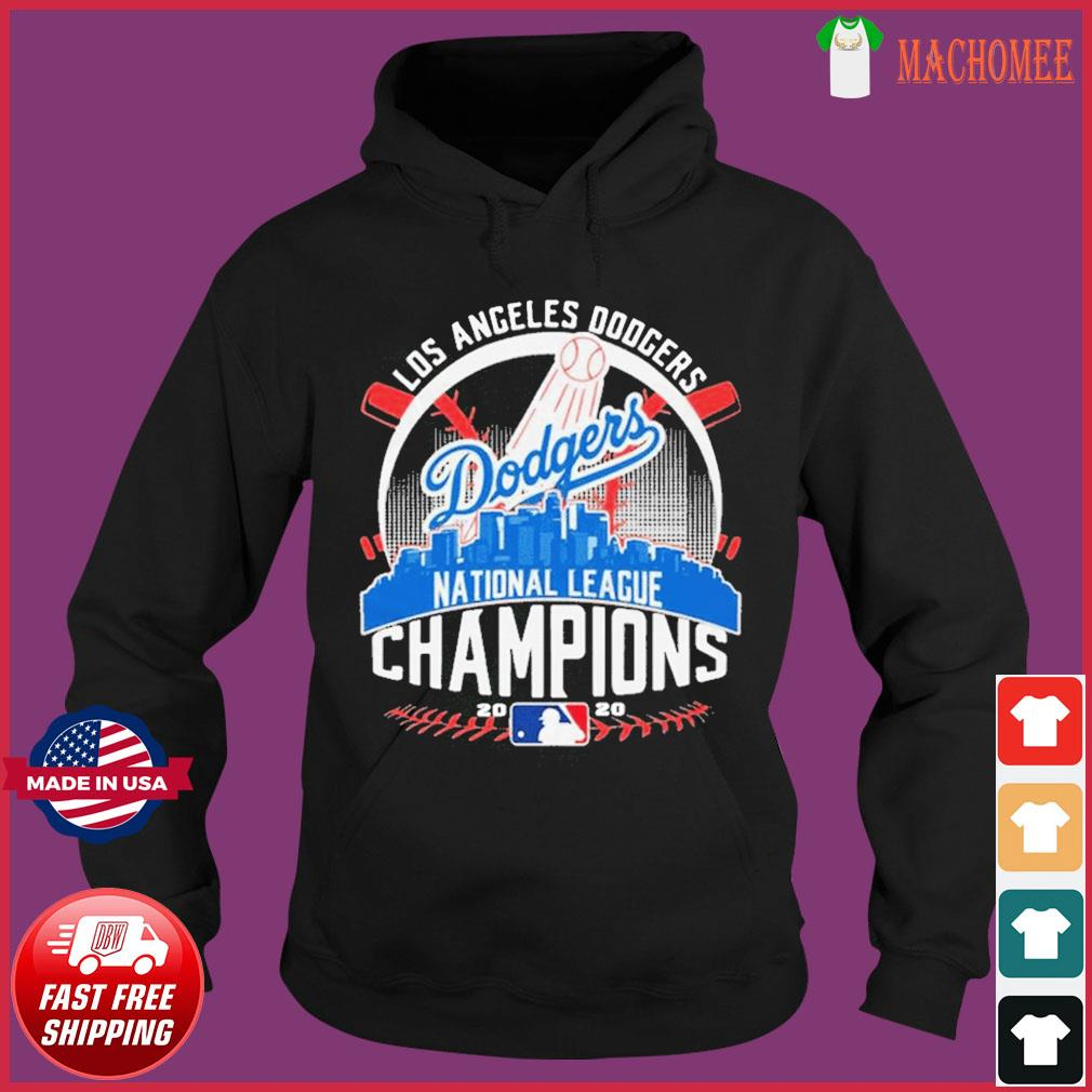MLB Baseball Los Angeles Dodgers Dodgers National League Champions 2020 LA Dodgers championship Shirt Hoodie