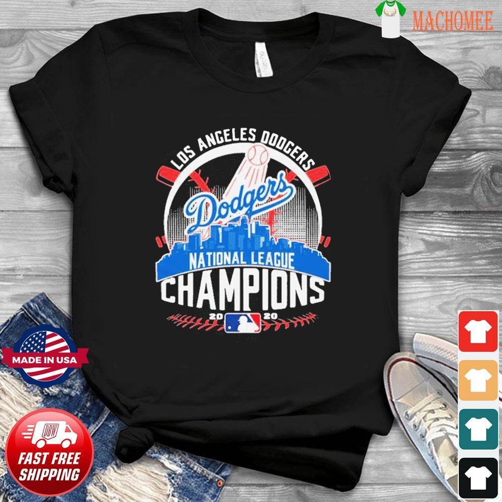 MLB Baseball Los Angeles Dodgers Dodgers National League Champions 2020 LA Dodgers championship Shirt