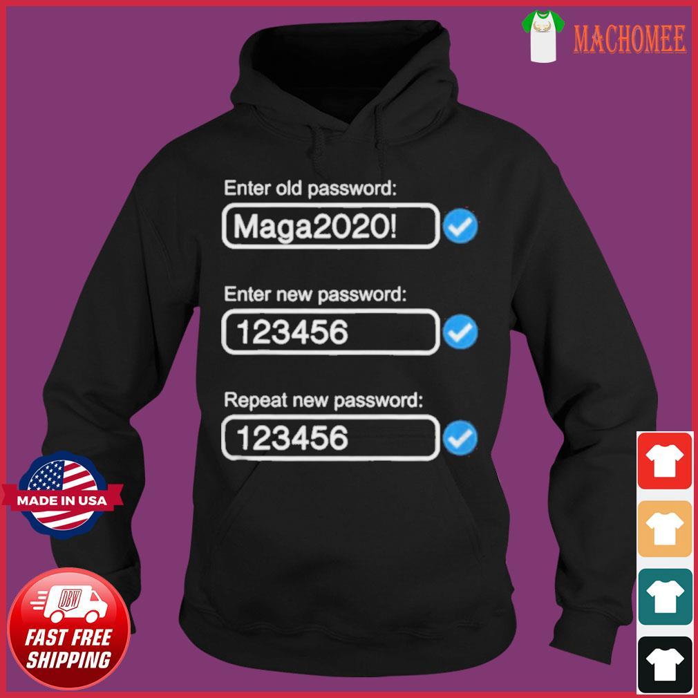 President trump's password maga2020 s Hoodie