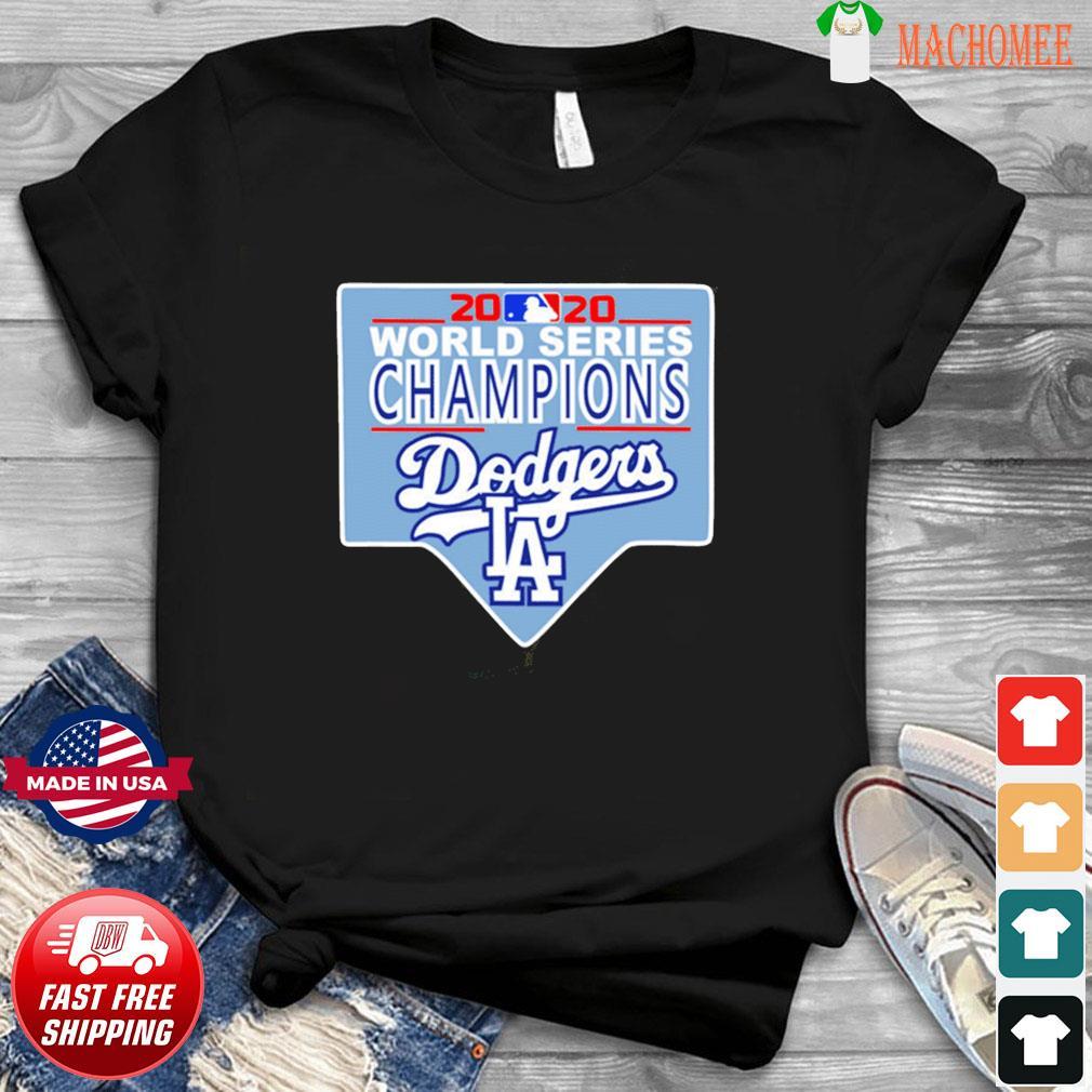 Team LA Dodgers 2020 World Series Champions Shirt