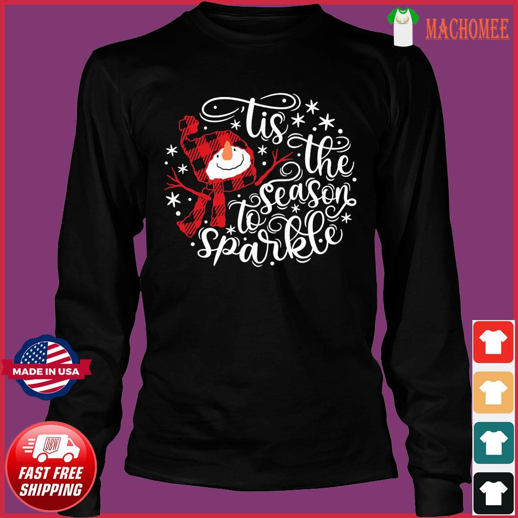 Tis The Season To Sparkle Christmas Sweats Long Sleeve