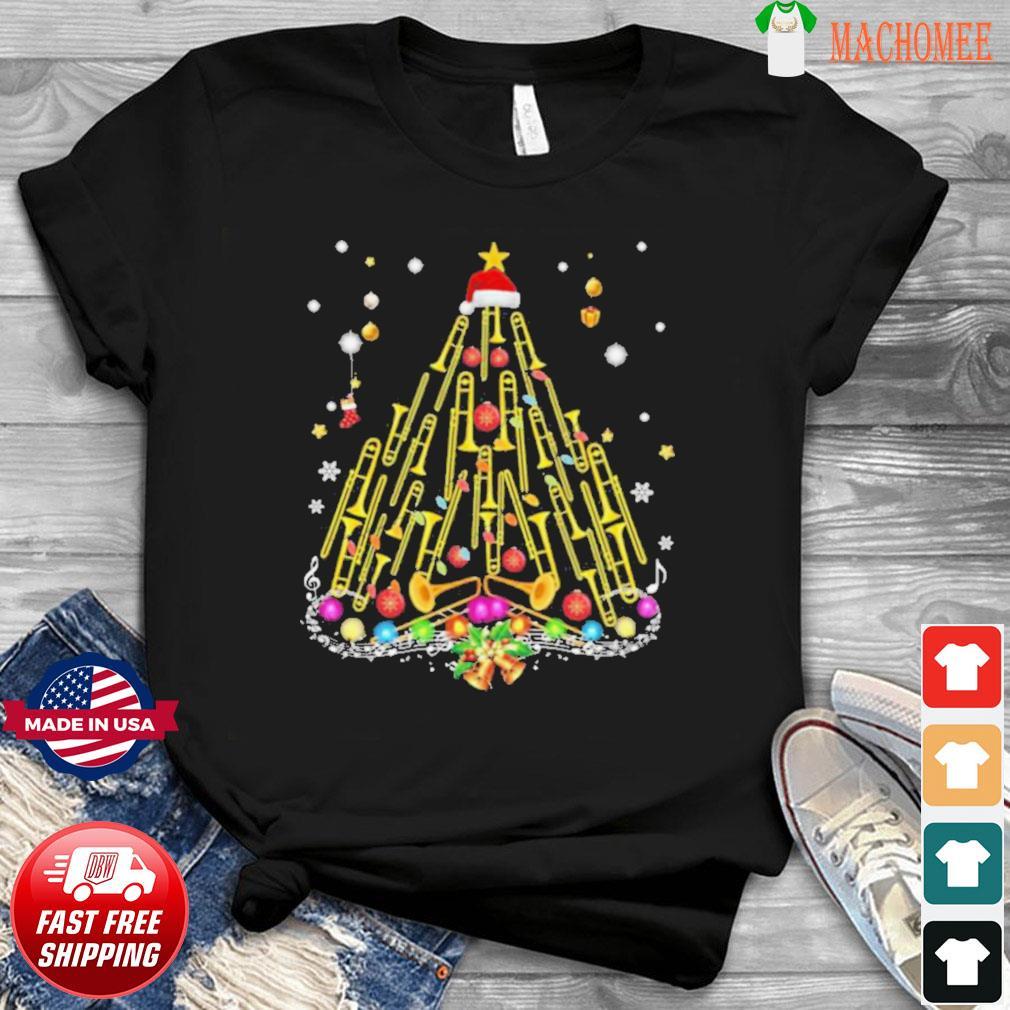 Trumpet Merry Christmas shirt