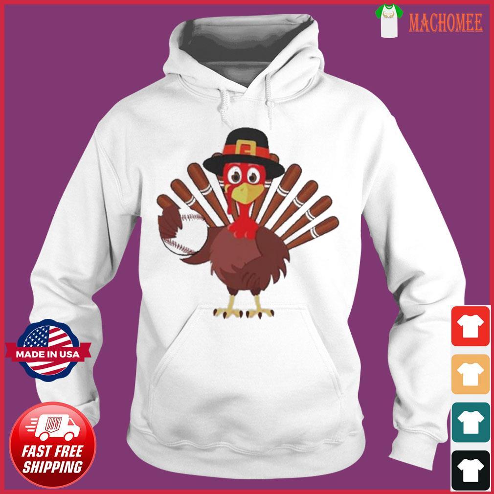 Turkey Baseball Thanksgiving 2020 s Hoodie