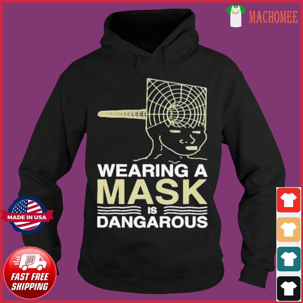 Wearing a mask meme trollface conspiracy theory s Hoodie