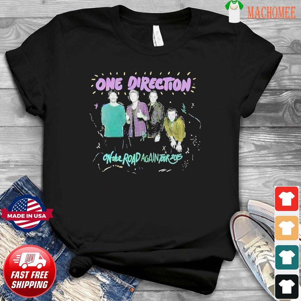 A Direction On The Way Back To The 2015 Tour Of The Vintage Funny Shirt, One Direction Sweatshirt