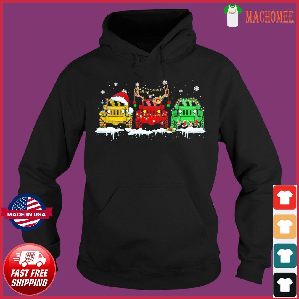 The Jeeps Santa Reindeer Christmas Sweats Hoodie