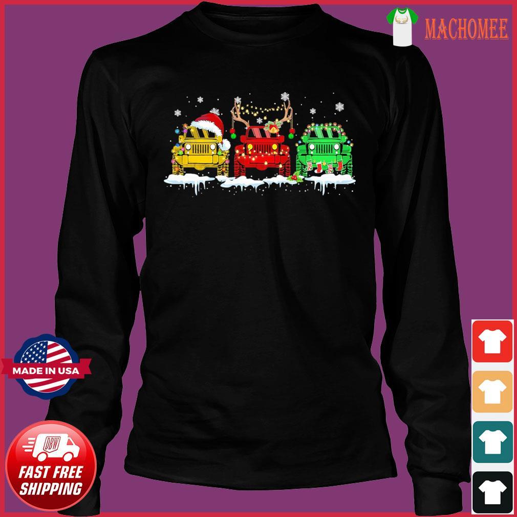 The Jeeps Santa Reindeer Christmas Sweats Long Sleeve