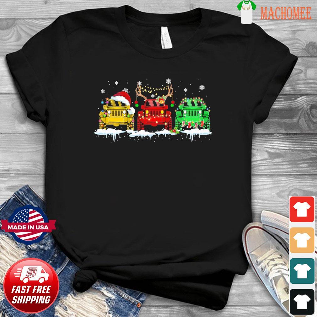 The Jeeps Santa Reindeer Christmas Sweatshirt
