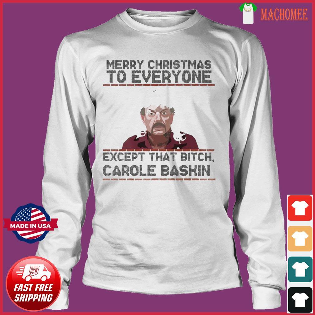 Tiger King Joe Exotic Merry Christmas Sweats Long Sleeve
