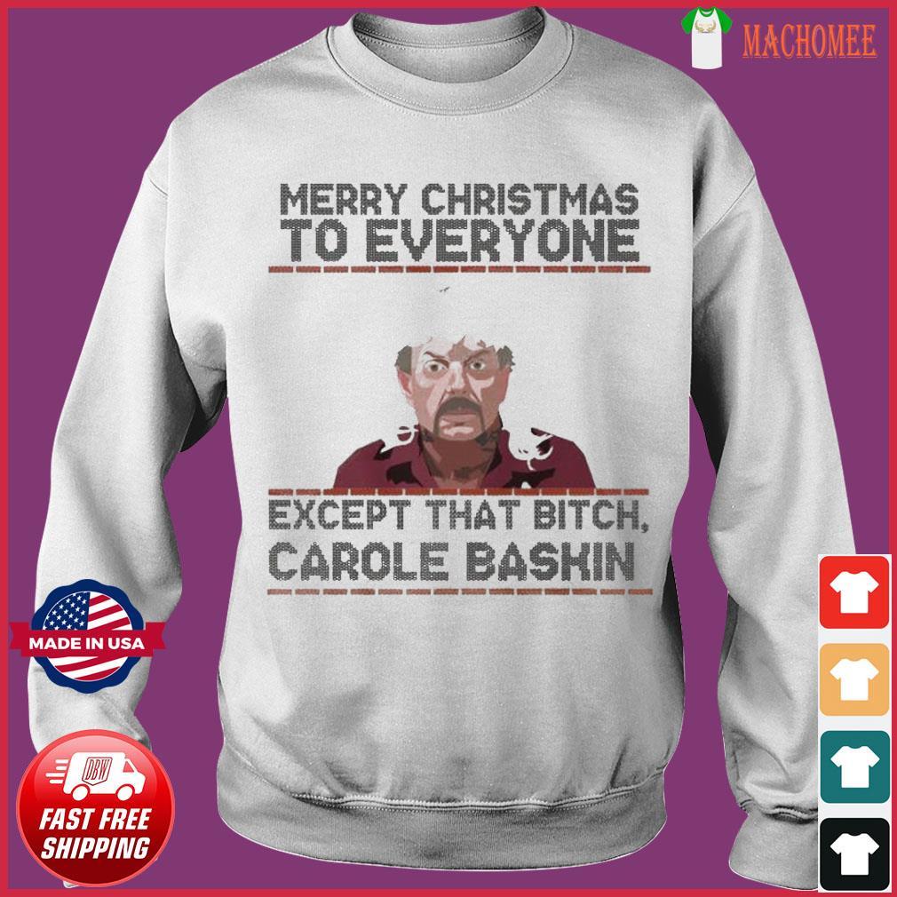 Tiger King Joe Exotic Merry Christmas Sweatshirt