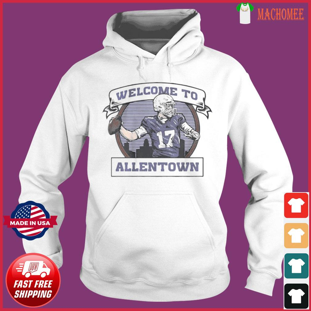 Welcome to Allentown s Hoodie